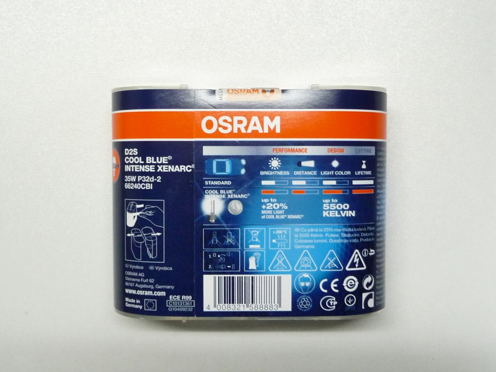 osram d2s cool blue intense 5500k 2kpl xenonkauppa finland. Black Bedroom Furniture Sets. Home Design Ideas