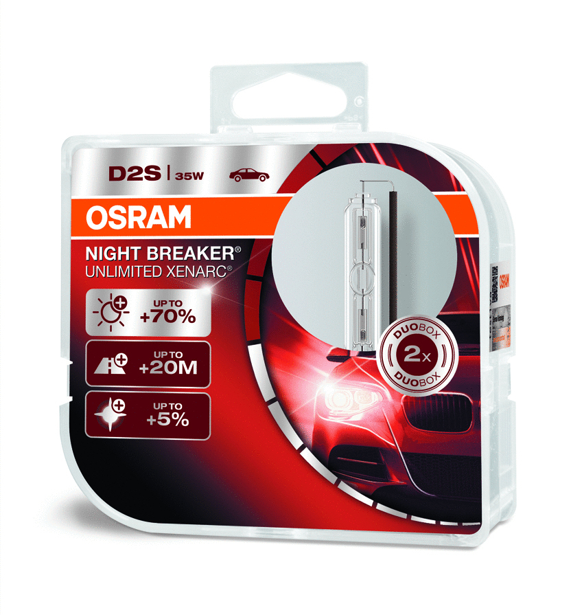 osram d2s night breaker unlimited 70 2 kpl. Black Bedroom Furniture Sets. Home Design Ideas