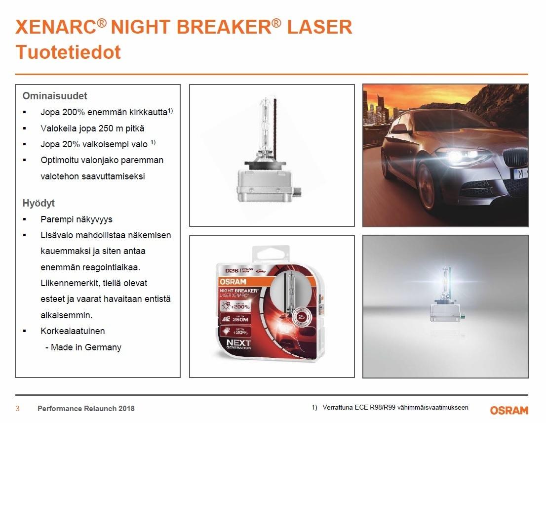 osram d1s night breaker laser 200 2 kpl xenonkauppa. Black Bedroom Furniture Sets. Home Design Ideas